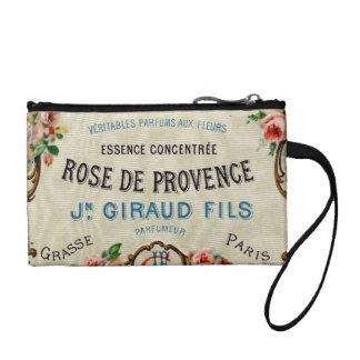 Rose de Provance a French Perfume Change Purse