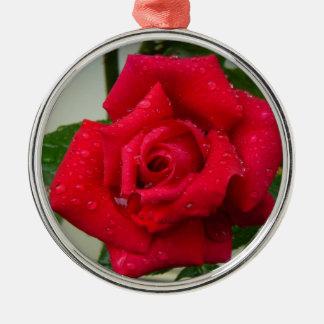 Rose Christmas Tree Ornament