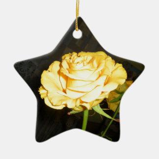 Rose Christmas Tree Ornaments