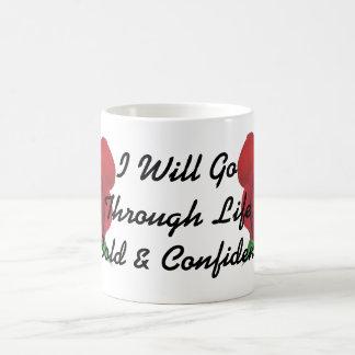 Rose Design Bold & Confident Cup