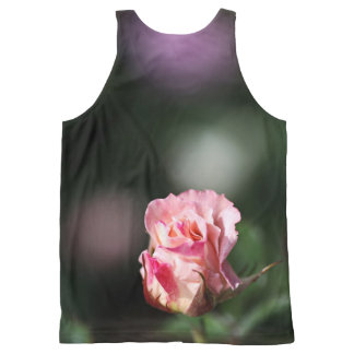 Rose Design by Bubbleblue All-Over Print Tank Top