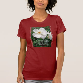 Rose Design for dark colored shirts