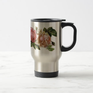 Rose Design Coffee Mugs