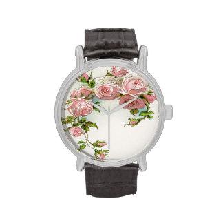 Rose Design Watch Wrist Watches