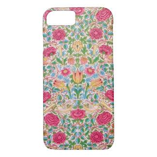 Rose Design with Birds iPhone 8/7 Case