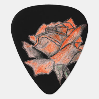 Rose Designer Guitar Pick