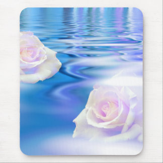 Rose dreamscape mouse pad