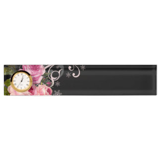 Rose Elegance Nameplate