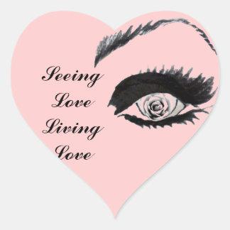 Rose Eye_ Sticker