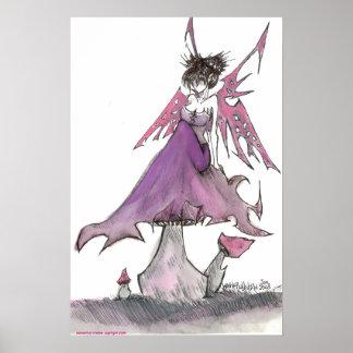 rose faerie poster