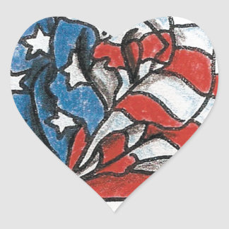 rose flag.jpg heart sticker