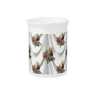 rose Floral, Art, Design, Beautiful, New, Fashion Pitcher