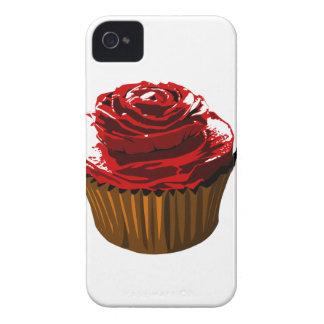 Rose floral design cupcake iphone4/4S case