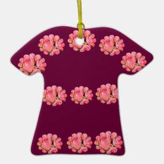 Rose Floral Pattern Ornament