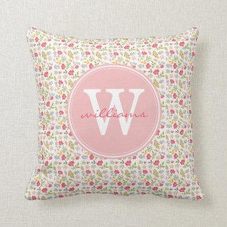Rose Floral | Throw Pillow