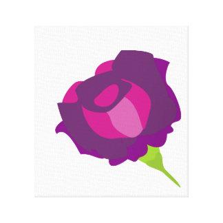 Rose flower canvas print