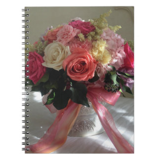 Rose Flower Garden Cute Pretty Birthday Mouse Pad Note Books