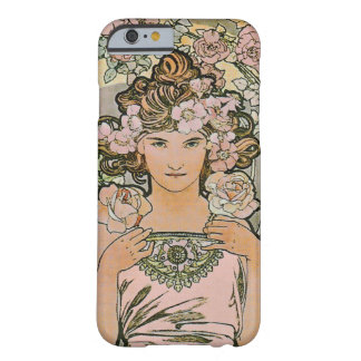 Rose Flower Girl Fine Art Barely There iPhone 6 Case