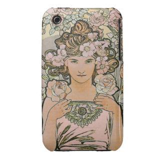 Rose Flower Girl Fine Art iPhone 3 Covers