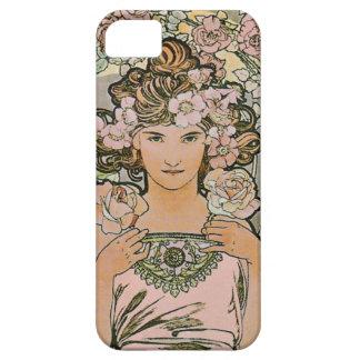 Rose Flower Girl Fine Art iPhone 5 Case