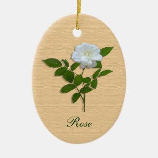Rose flower ornament