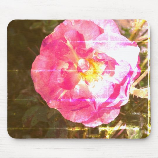 Rose Flower Photo Mousepad