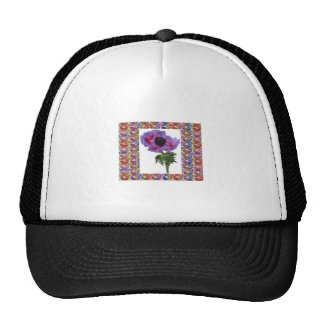 Rose Flower Unique and Jewel Pattern Elegant gifts Trucker Hat