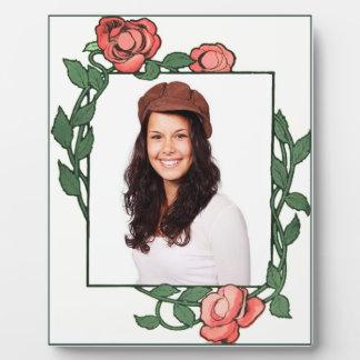 Rose Frame Plaque