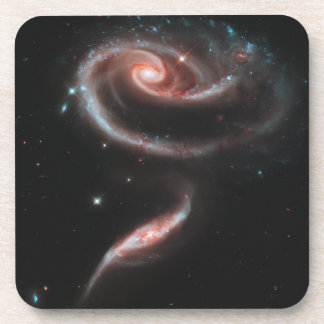 Rose Galaxy Beverage Coaster