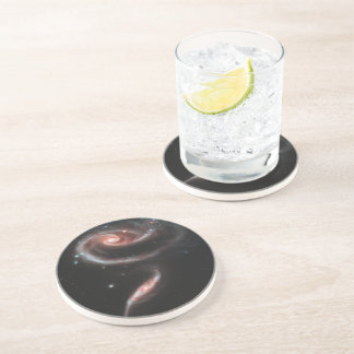 Rose Galaxy Drink Coasters