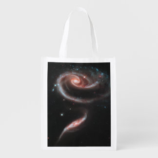 Rose Galaxy Reusable Grocery Bag