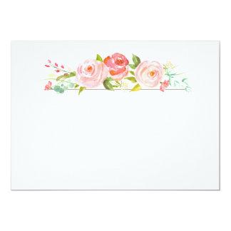 Rose Garden Blank Card