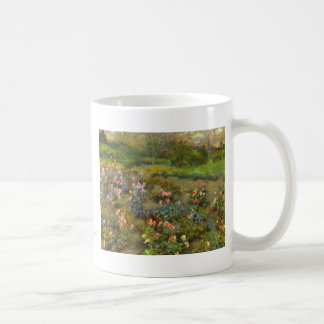 Rose Garden by Renoir beautiful impressionist art Coffee Mug