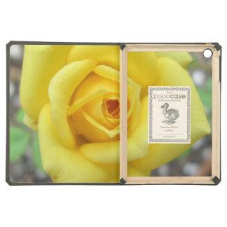 Rose Garden Flower Mini Yellow Case For iPad Air