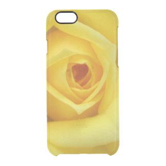 Rose Garden Flower Mini Yellow Clear iPhone 6/6S Case