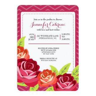 Rose Garden Invitation