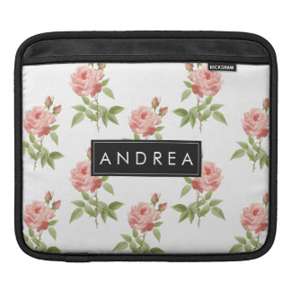 Rose Garden Personalized iPad Sleeve