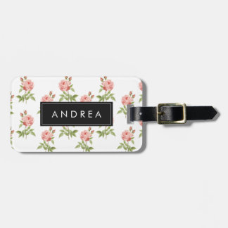 Rose Garden, Personalized Luggage Tag