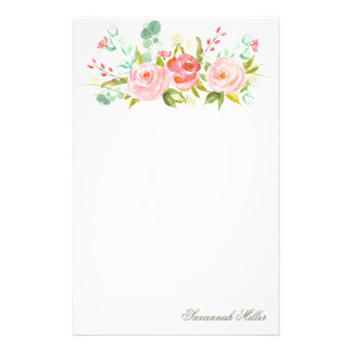 Rose Garden | Personalized Stationery