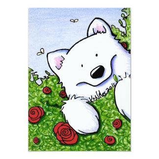 Rose Garden Sammy Card