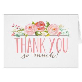 Rose Garden | Thank You Card