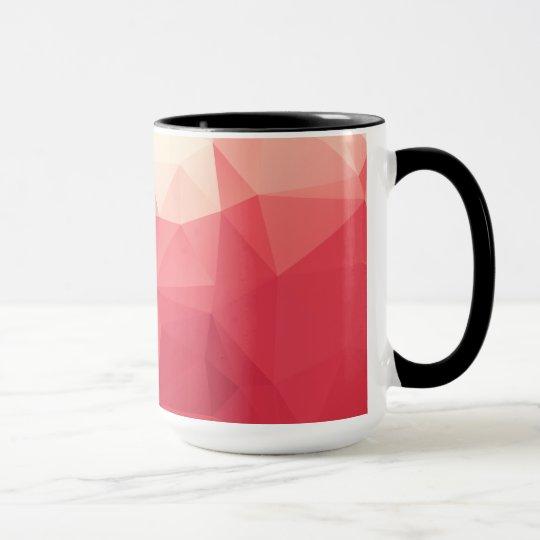 Rose Geometric Abstract Mug