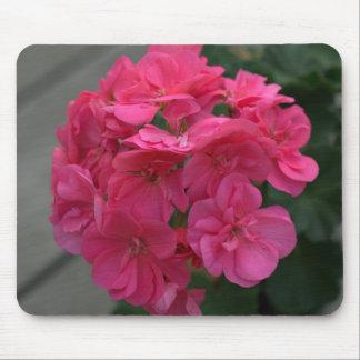 Rose Geranium Floral Mousepad Mouse Pad