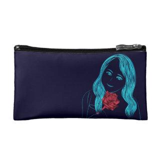 Rose Girl Cosmetic Bag