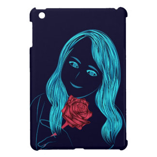 Rose Girl iPad cover