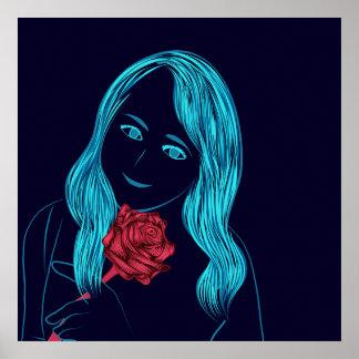 Rose Girl Poster