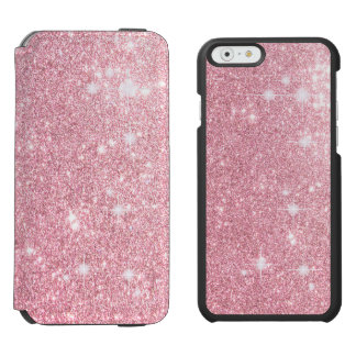 Rose Glitter Shine Look Incipio Watson™ iPhone 6 Wallet Case