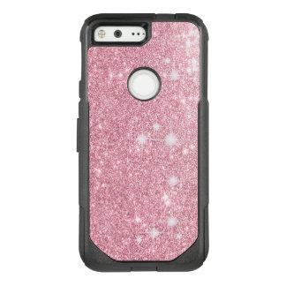 Rose Glitter Shine Look OtterBox Commuter Google Pixel Case