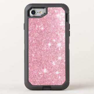 Rose Glitter Shine Look OtterBox Defender iPhone 8/7 Case