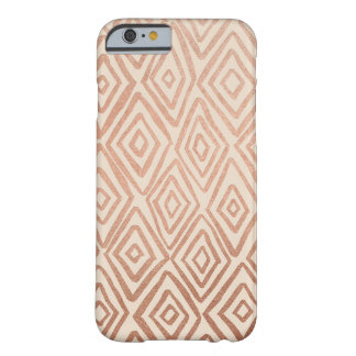 Rose Gold and Cream Diamonds iPhone 6/6s Case Barely There iPhone 6 Case